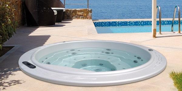 acheter le spa encastrer round 2 aquavia spa france. Black Bedroom Furniture Sets. Home Design Ideas