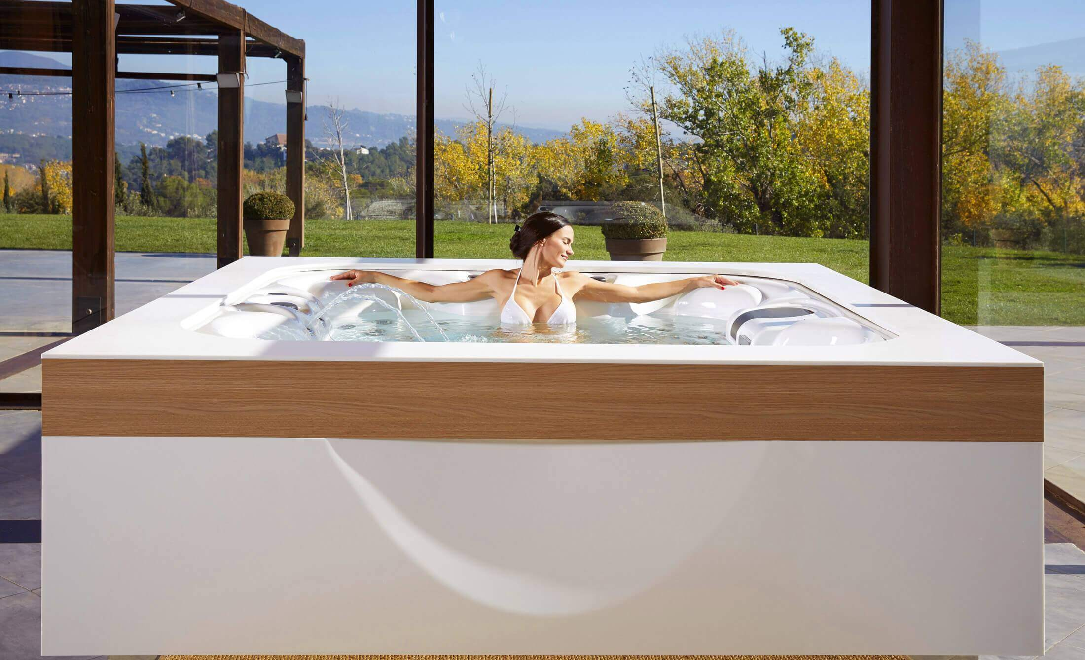Spa Jacuzzi d'Aquavia Spa France